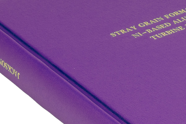 Thesis binding in north london