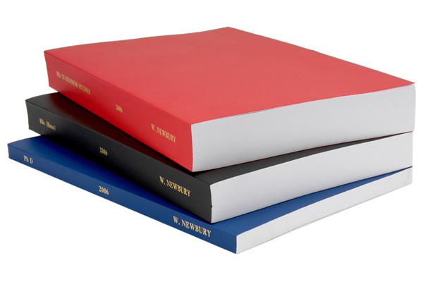 soft bound thesis We offer the following types of thesis binding for all universities: wire binding comb binding spiral binding channel binding full cloth soft binding.
